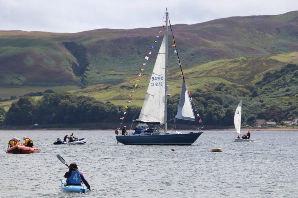 Different vessels took part in last year's regatta.