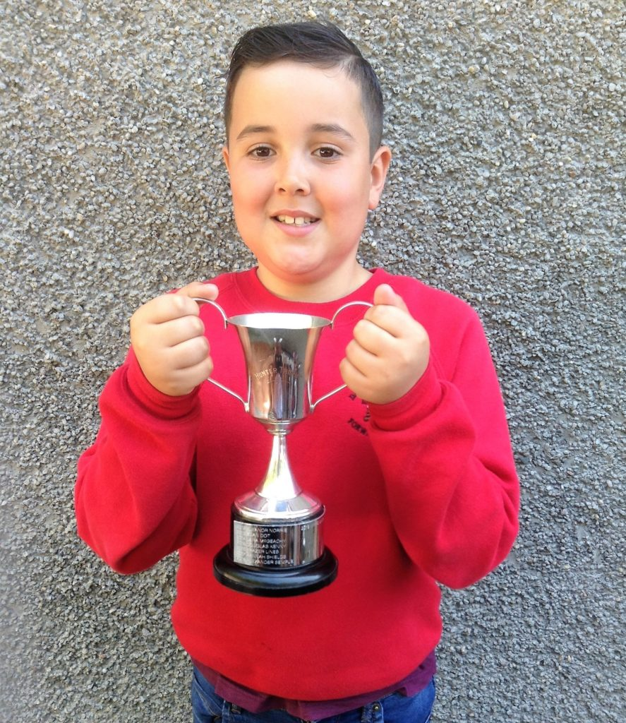 Hunter Cup for sustainable education/eco winner, Marc Davis.