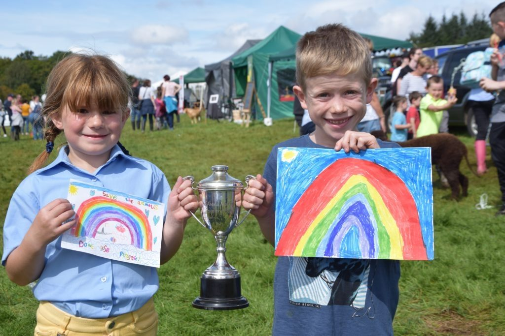 Sophie Millar from Southend and Ruaraidh Baker of Elderslie won the MAAS Cup for most points in the children's section (five to seven). 51_a33MAS52