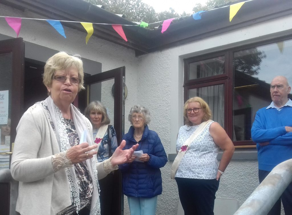 Councillor Anne Horn opened the show.