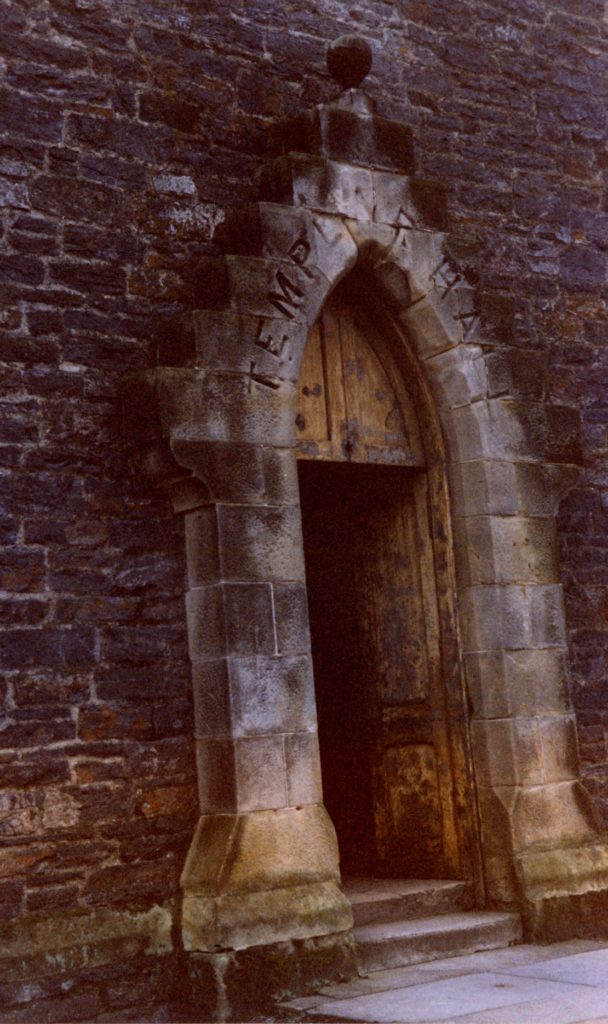 The entrance to the now-demolished Templars Hall. Thomas said the hall was also known as 'The Bowery' and had the best dance floor in town.