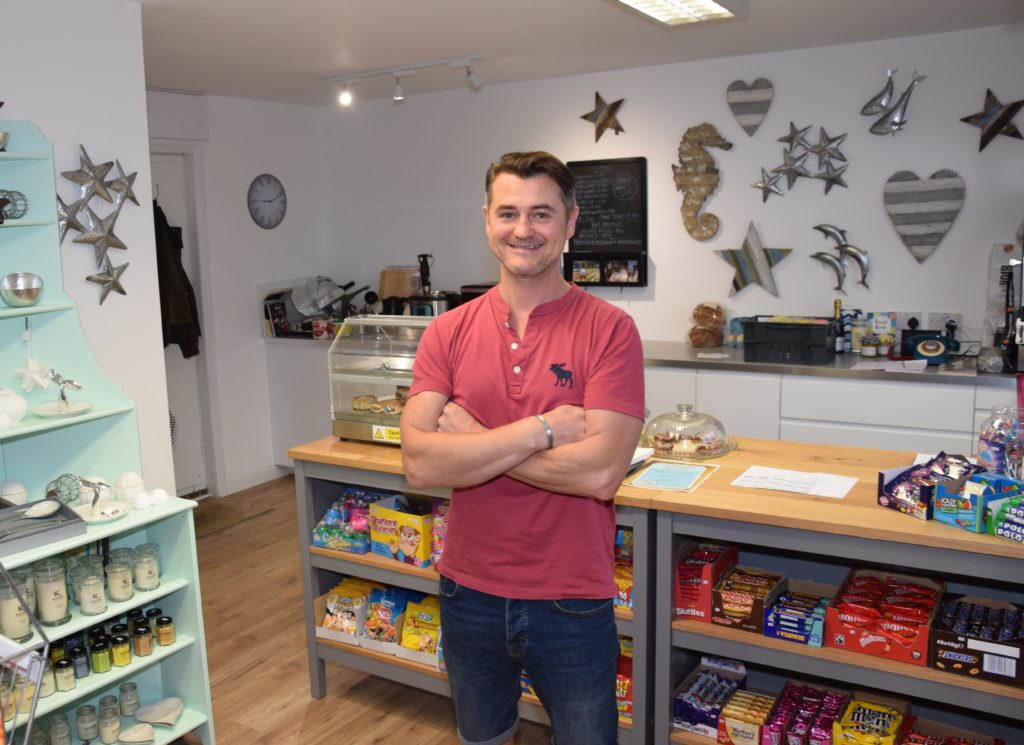 Will Anderson has reopened Muasdale Stores.