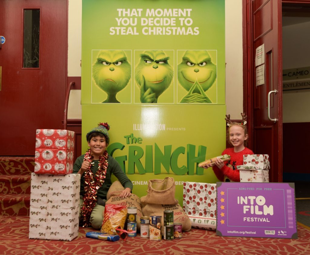 The Grinch is also on the programming list as part of the festival.