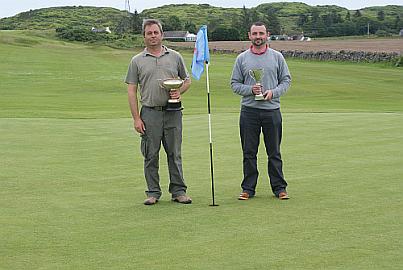 Jamie is champion at Carradale Golf Club