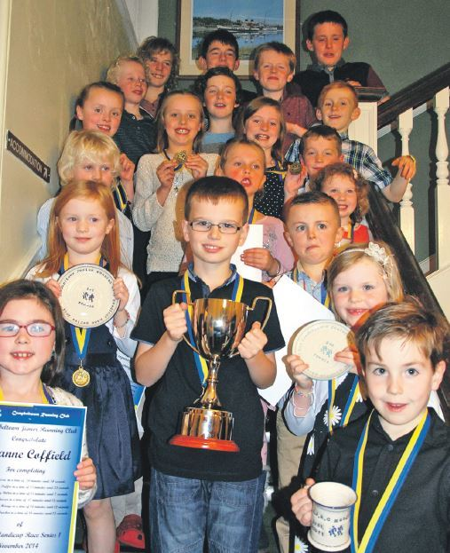 New Courier trophy presented at Campbeltown Running Club
