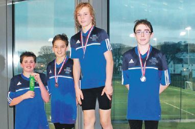 Kintyre swimming youngsters make waves at club championships