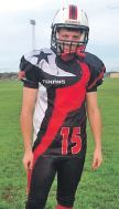 Campbeltown man becomes star of American football team