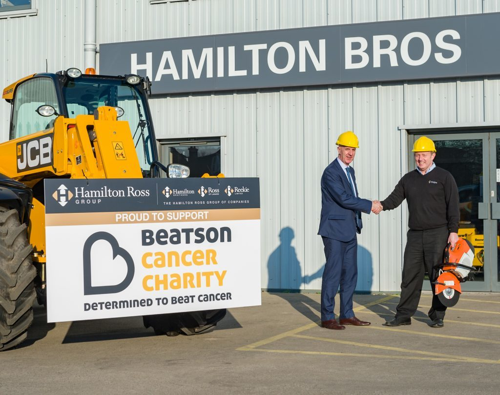 Campbeltown company supports cancer charity