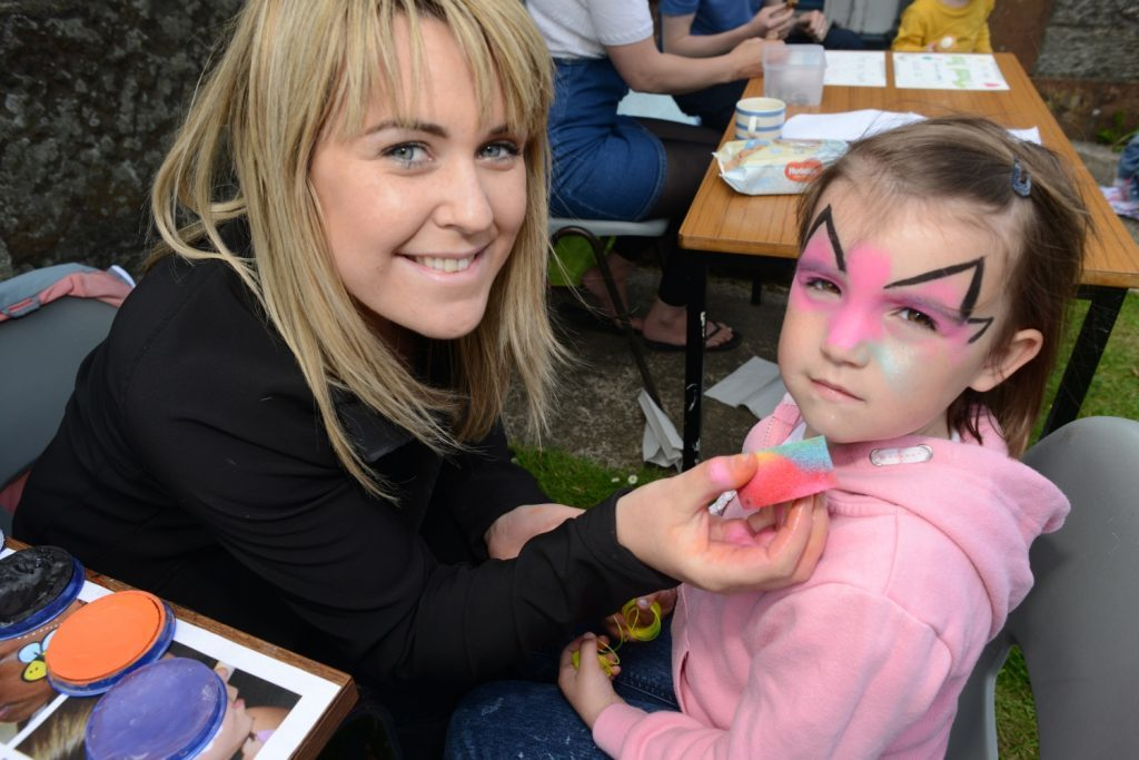 Tiny tots raise more than £700 at family fun day