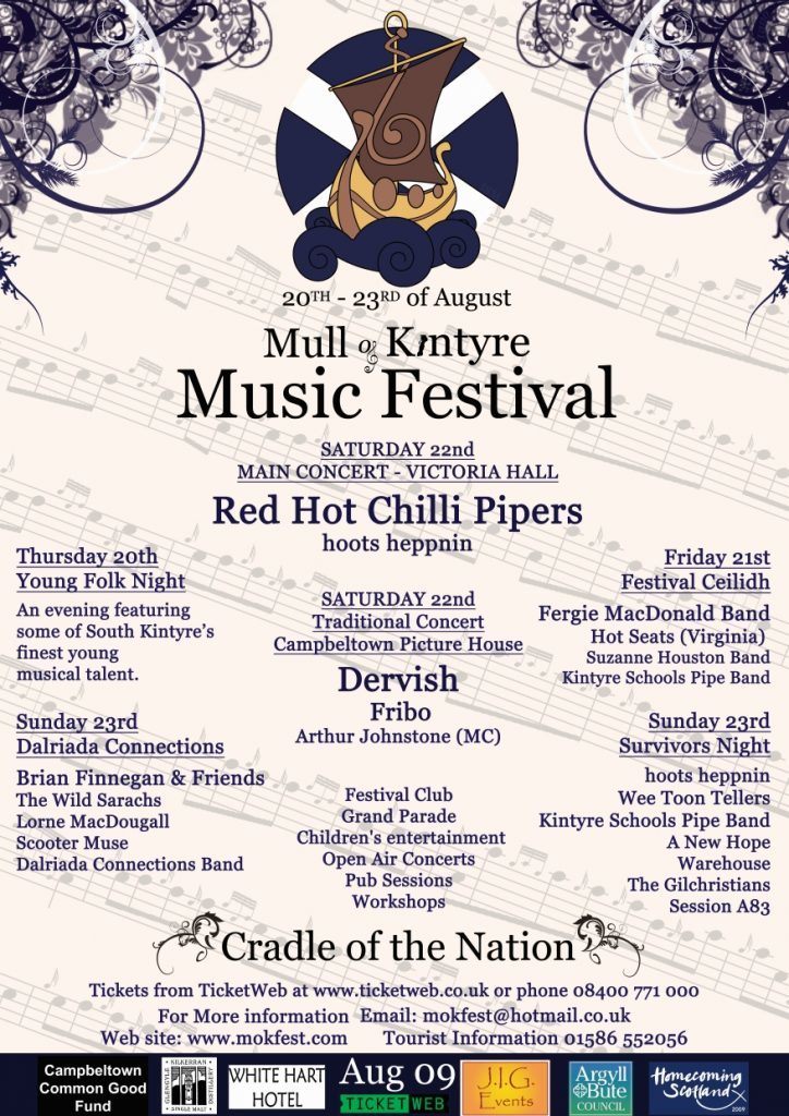 Red Hot Chilli Pipers' sold out show