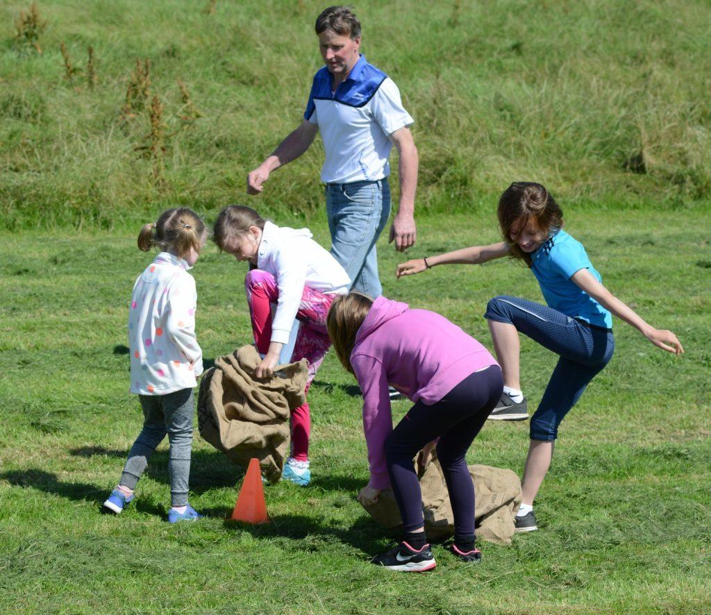 Killegruer's field of fun raises £1,000