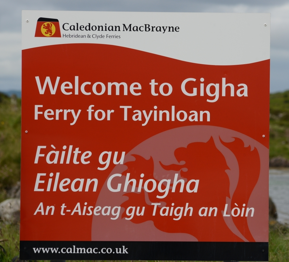 Letter: Gigha shop has had no works