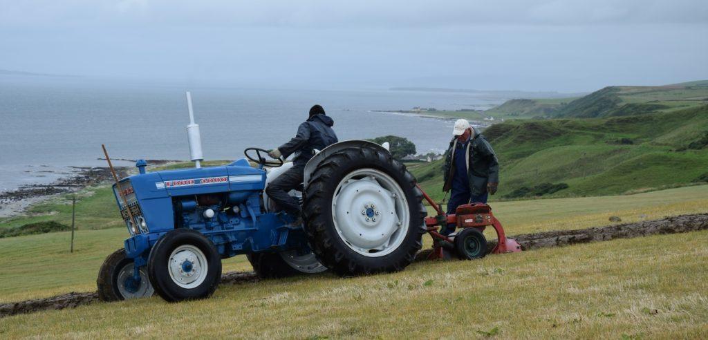 Largieside ploughing prowess