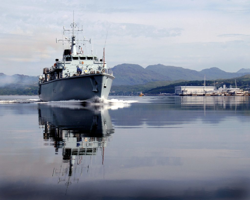 Europe's largest military exercise rallies in the Clyde