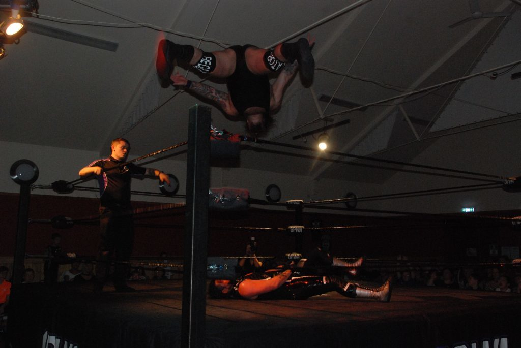 Team Wolfgang wrestlers benefit Clachan hall
