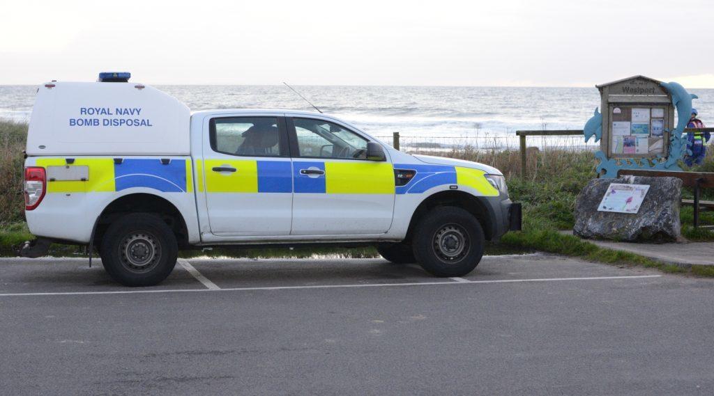 Disposal team takes Fyne route to Kintyre