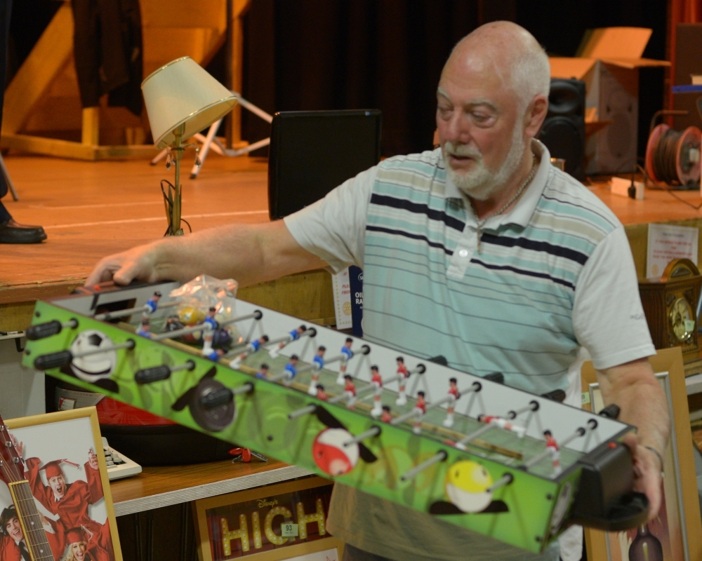 Bidding battles at ever popular rotary sale