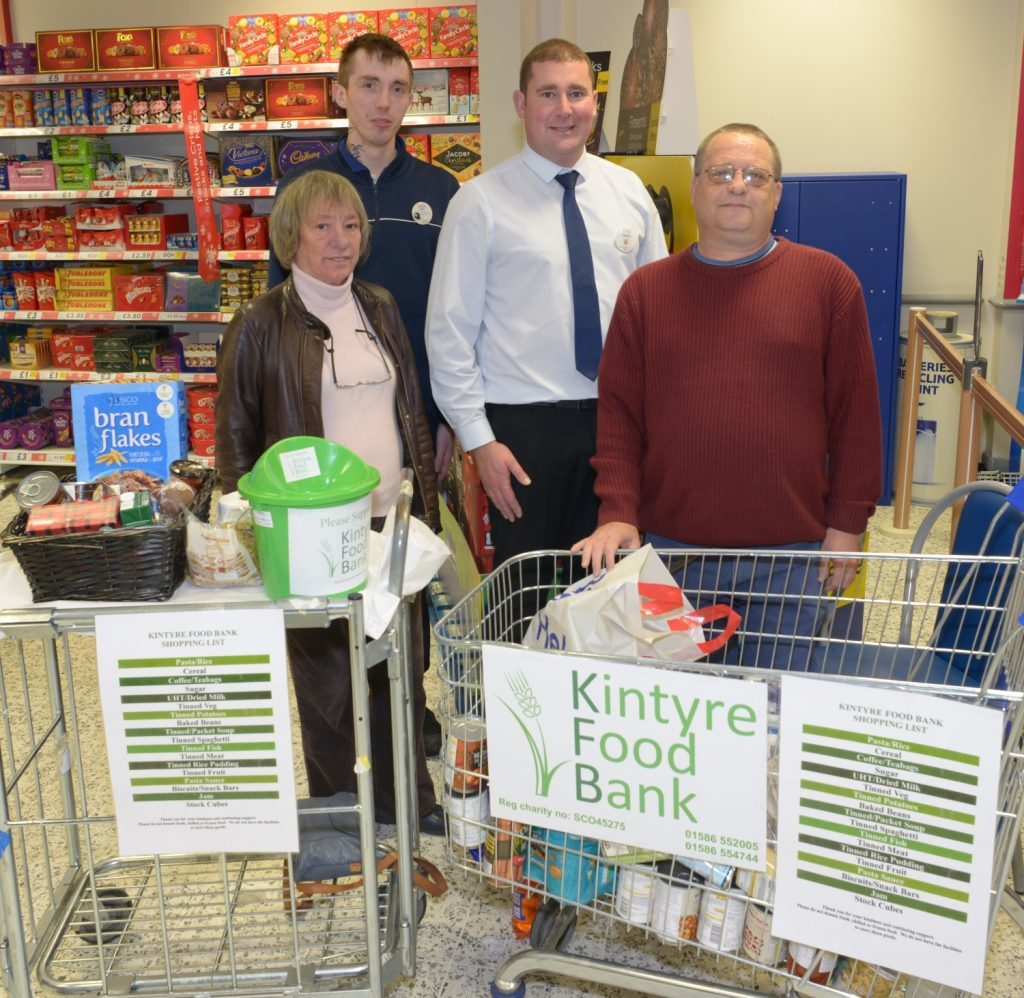 Foodbank Extends Hours Campbeltown Courier