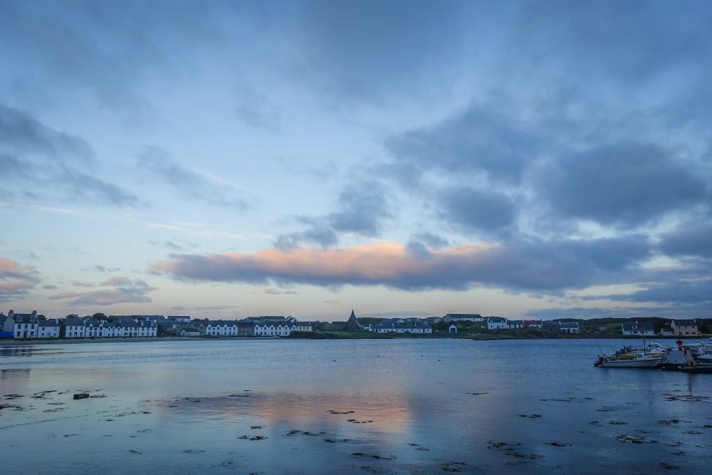 Islay townships plunged into darkness