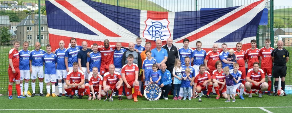 Former Rangers stars to captain charity game