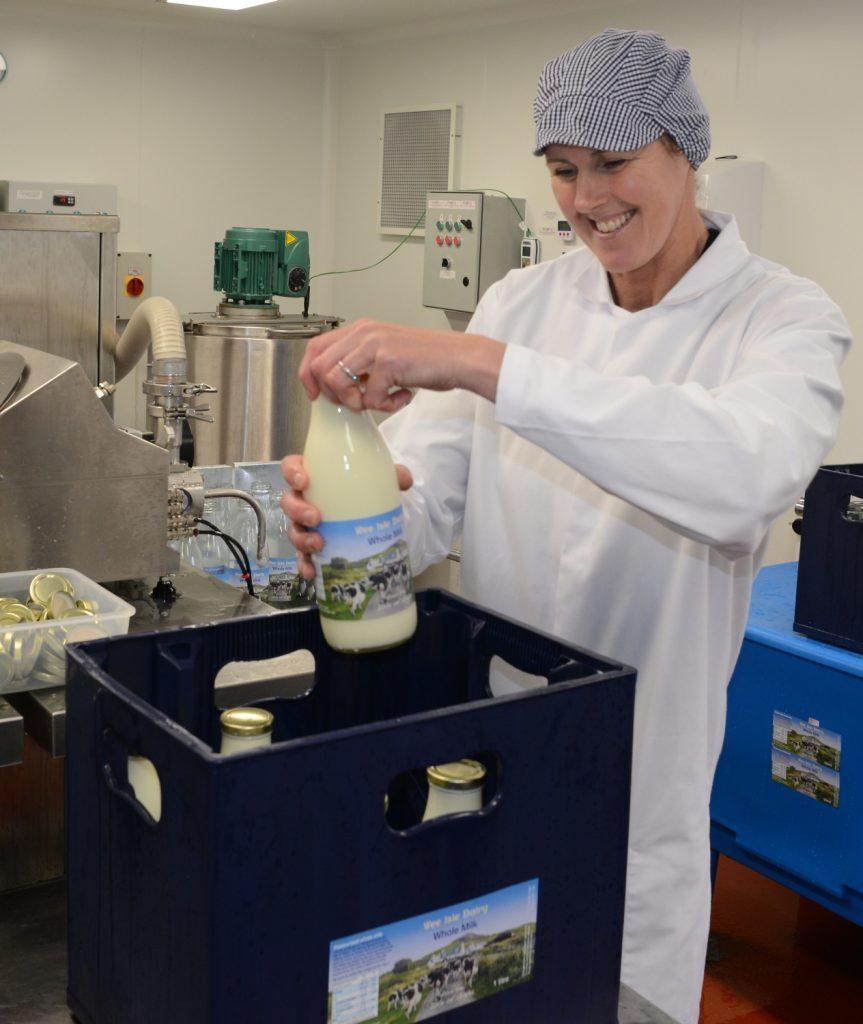 Island's dairy showcased in Glasgow
