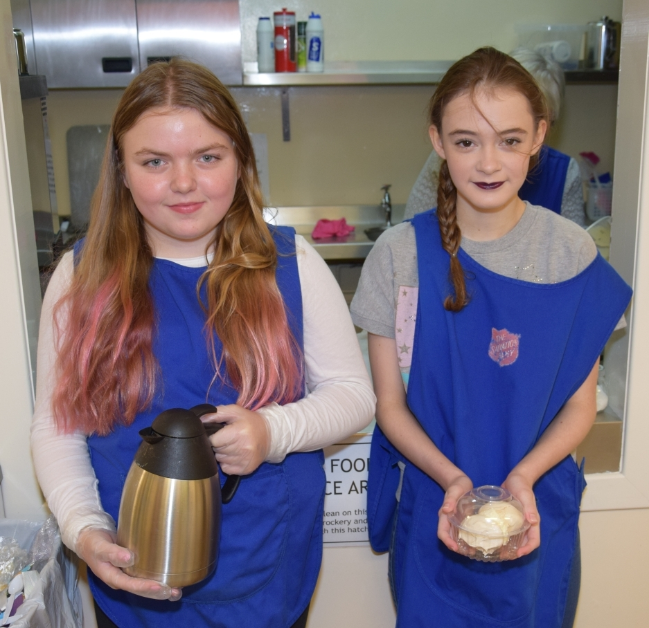 Switch-on treats at Salvation Army