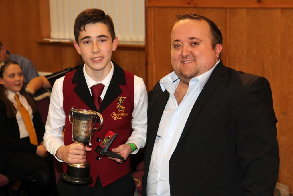Brass player is junior solo champion