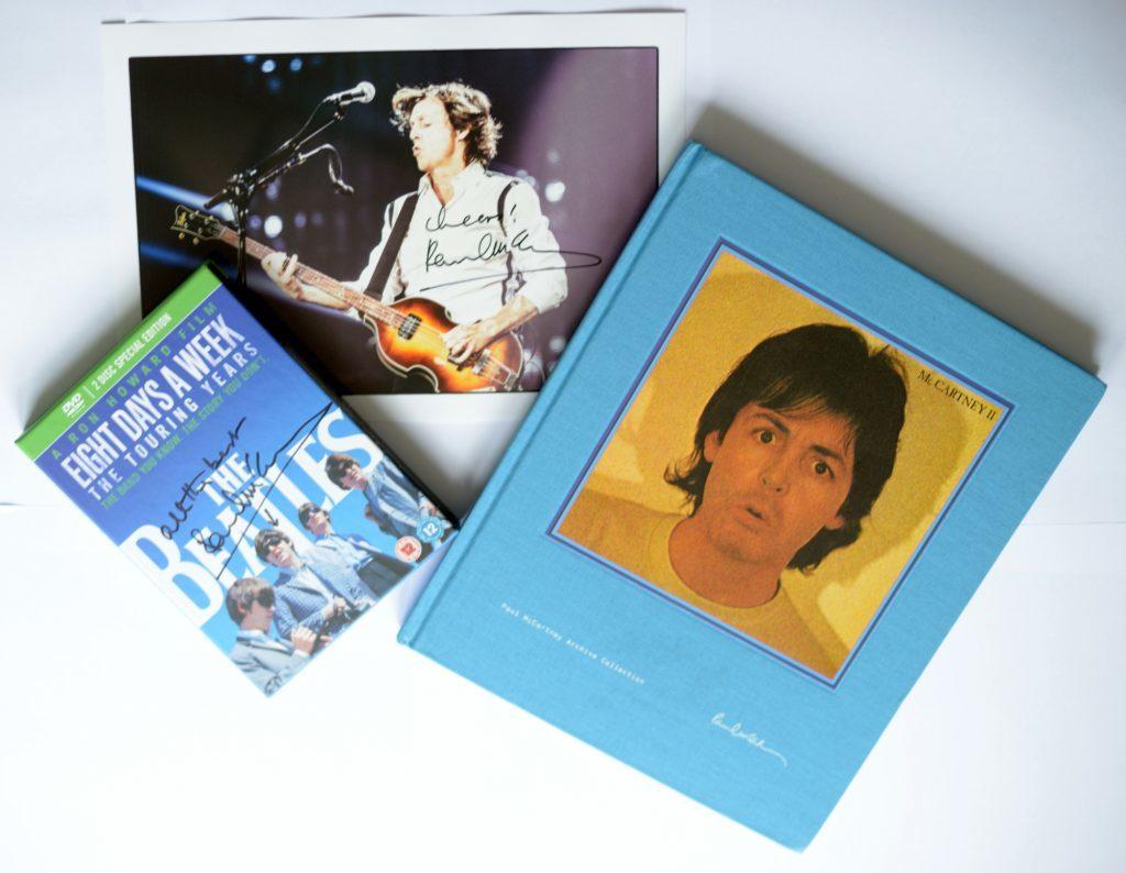 McCartney merchandise winners
