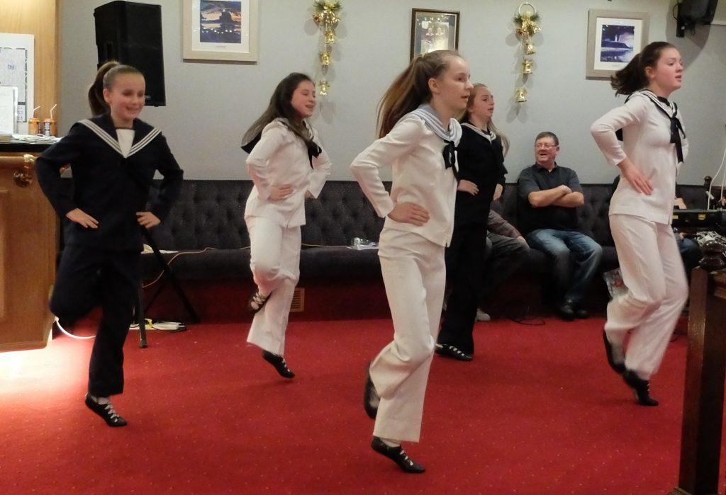 Highland dancers' uplifting matinée