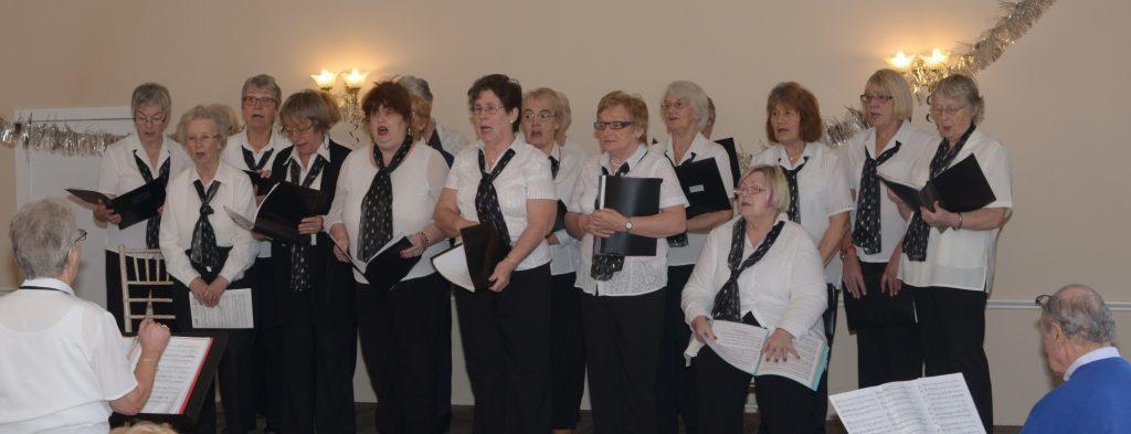 U3A choir lift Argyll hotel roof