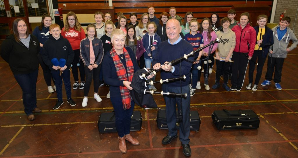 Piping legend's legacy lives on with KSPB