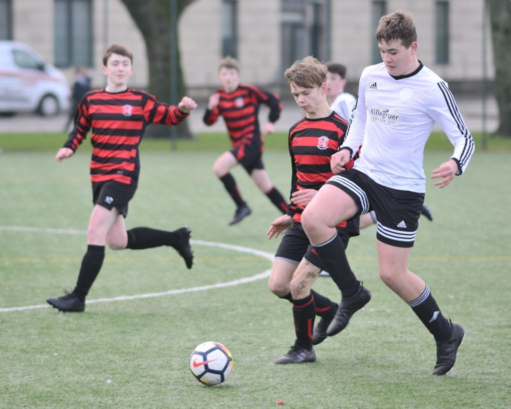 U16 Pupils' cracking first half home display