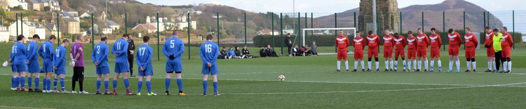 Footballers' mark of respect