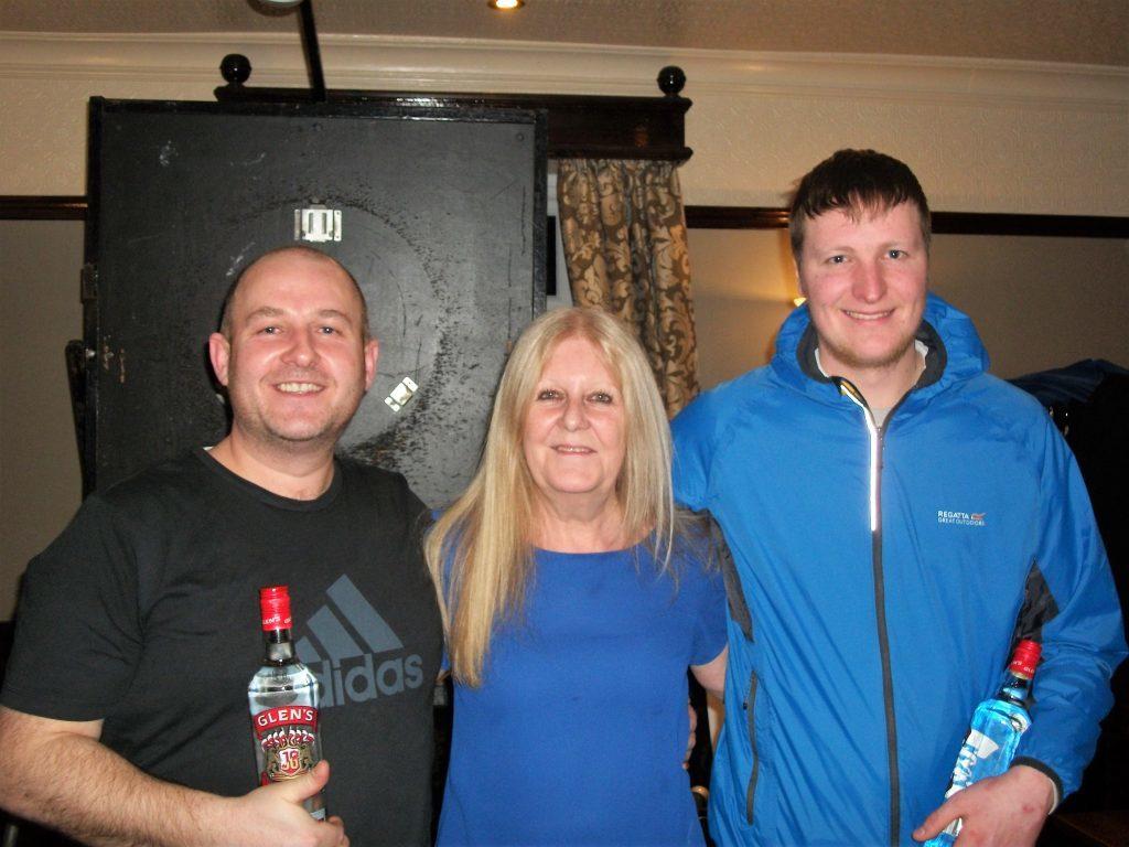 Kilbrannan's darts' victory