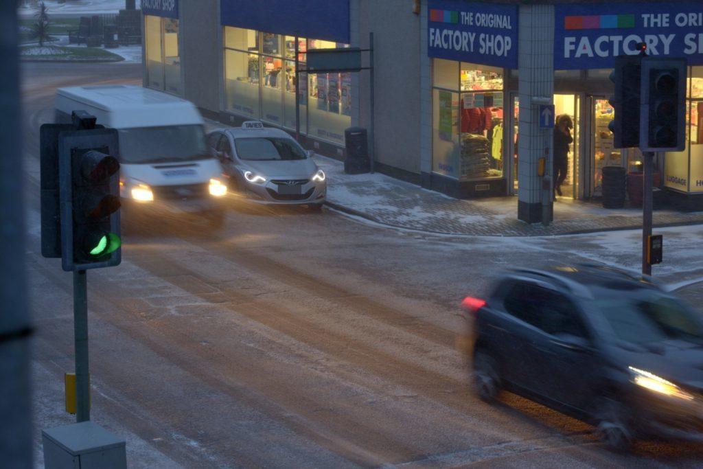 Blizzard blankets west Kintyre
