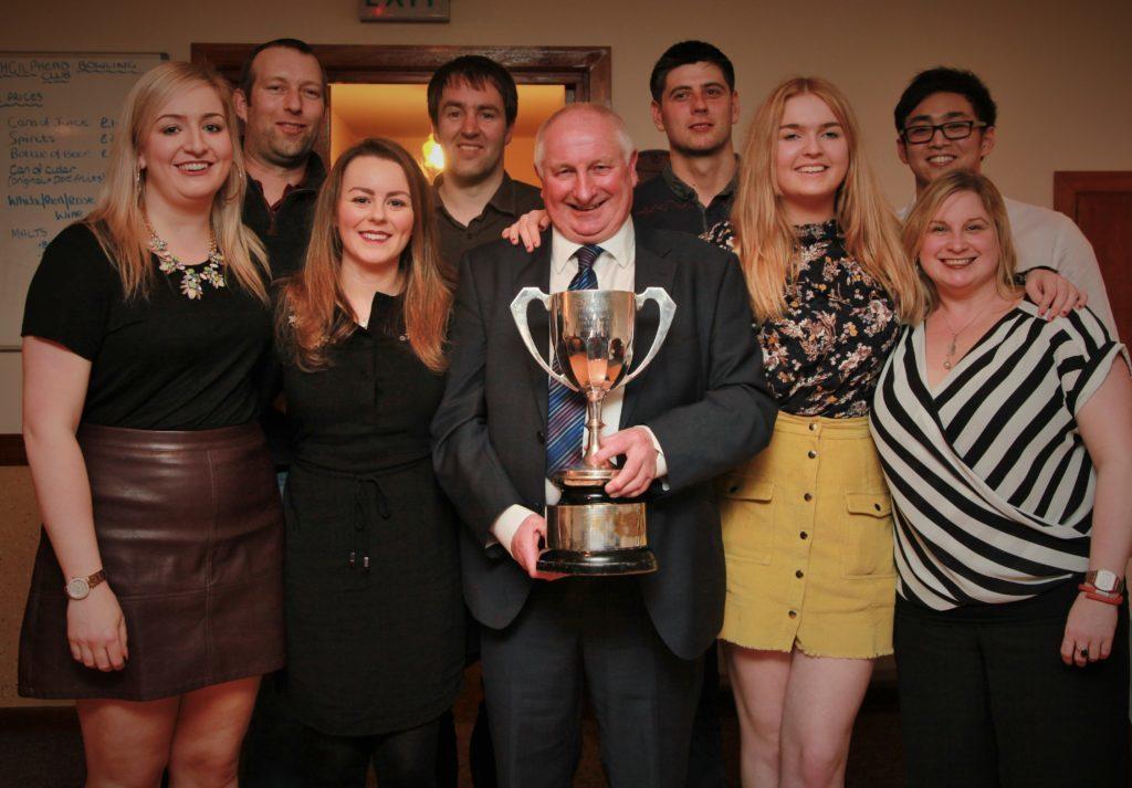 Campbeltown badminton ace's smashing success