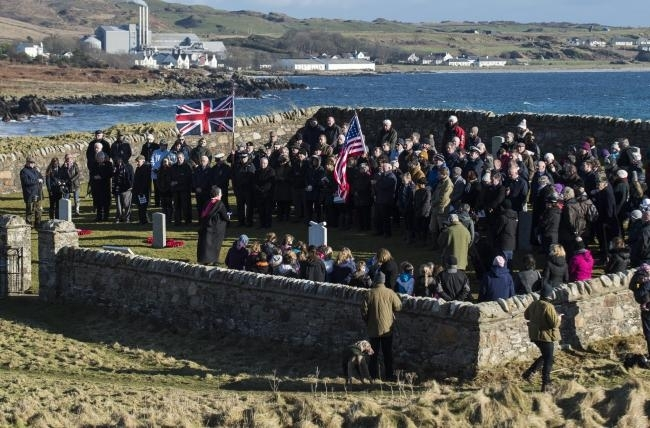 Islay commemorates First World War sinking