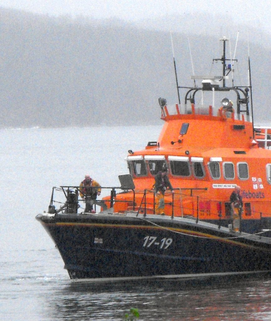 Campbeltown lifeboat callout in early hours