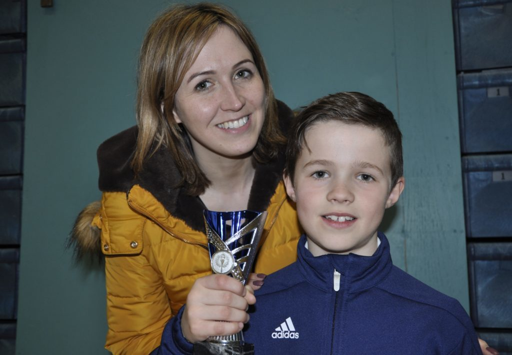 Kintyre champions at Oban athletics final