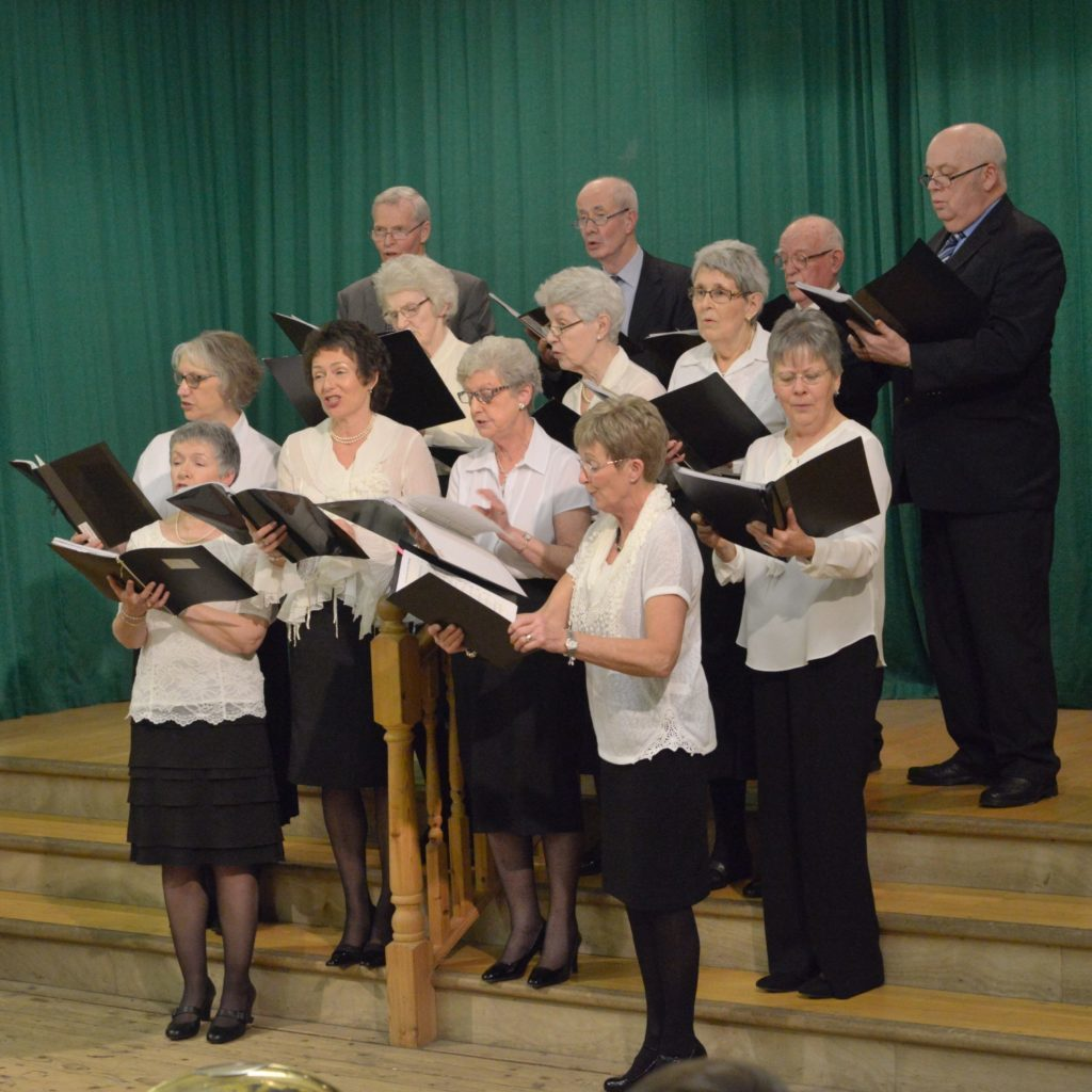 Spirits raised at church guild's concert