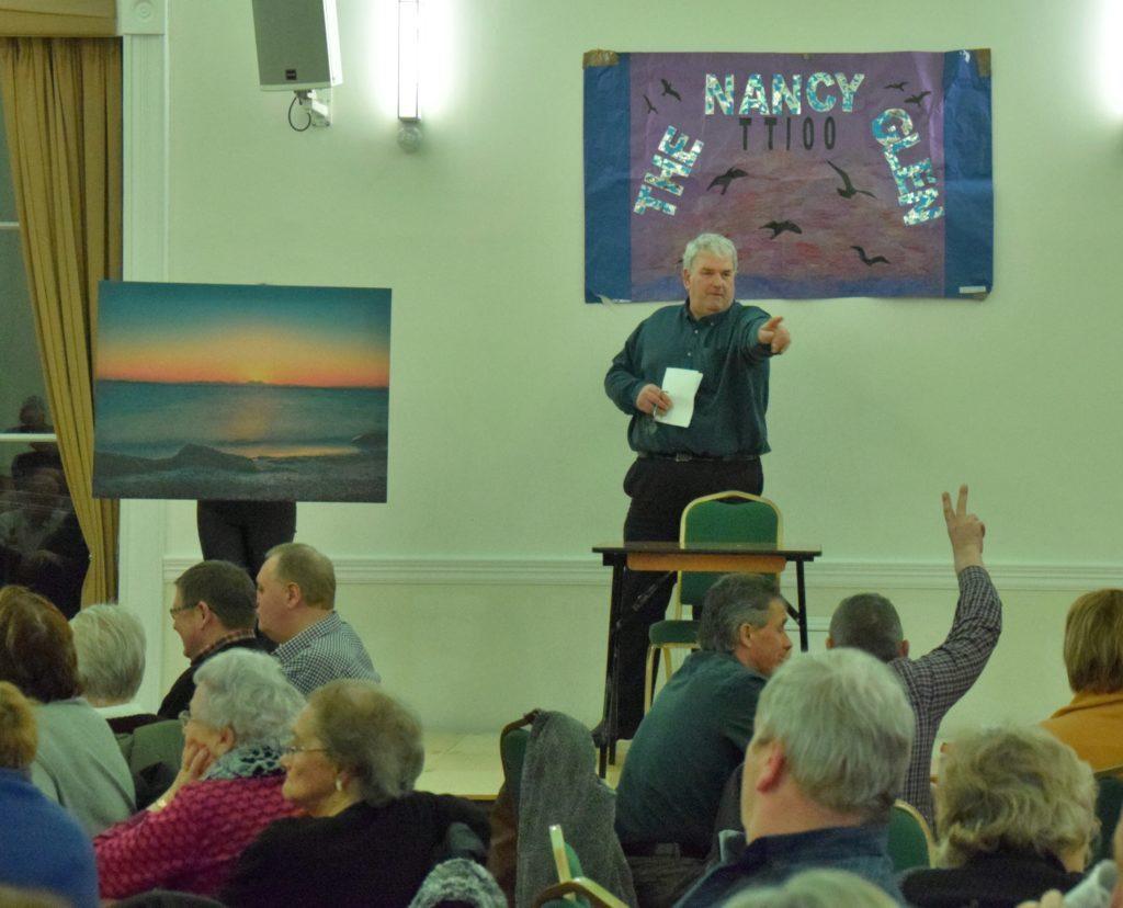 Wee Toon coo raises Nancy Glen funds