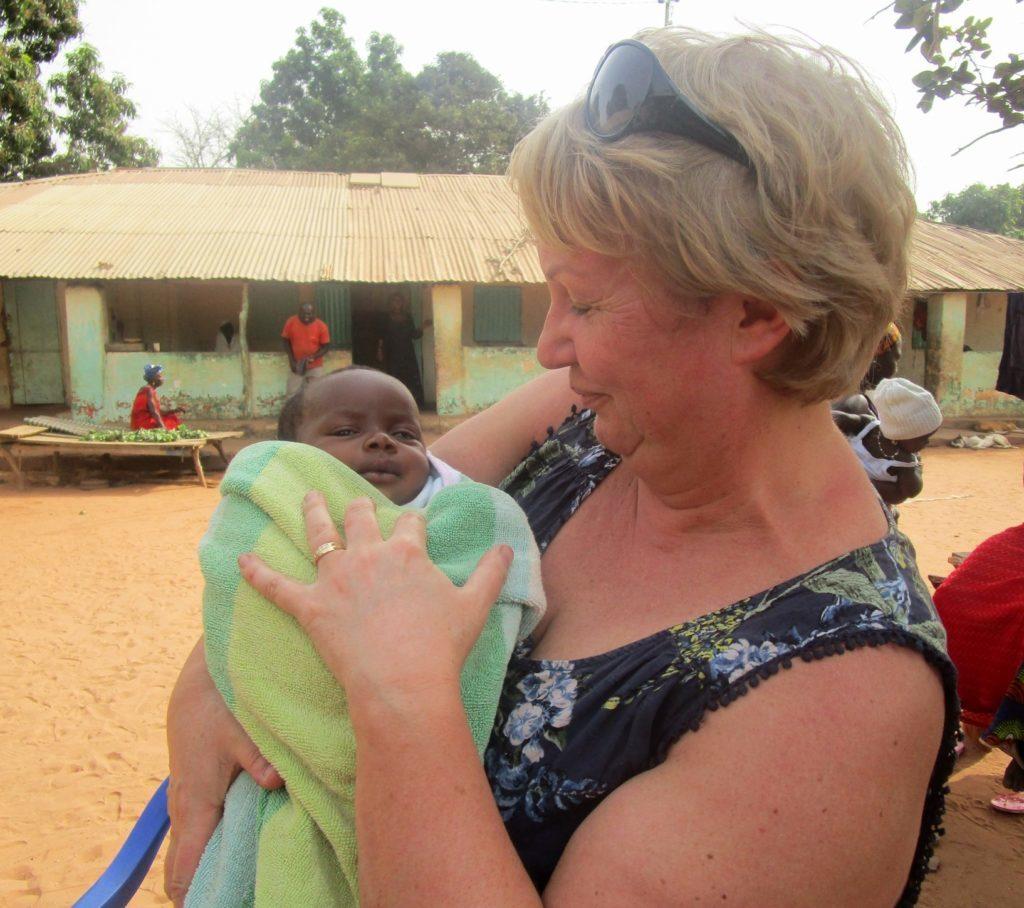 Agnes meets her African namesake