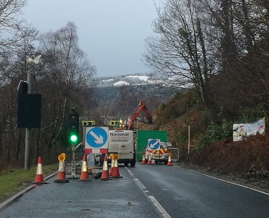 Letter: Strone Point A83 road closures
