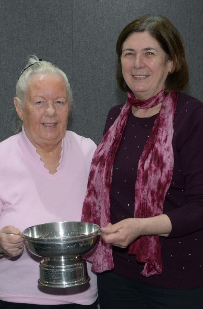 Kintyre Bridge club's trophy winners