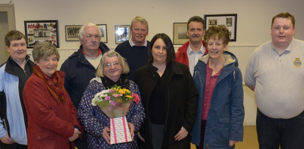 Community council stalwart retires