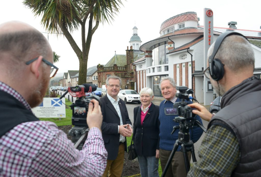 STV2 News at One features Campbeltown Picture House today