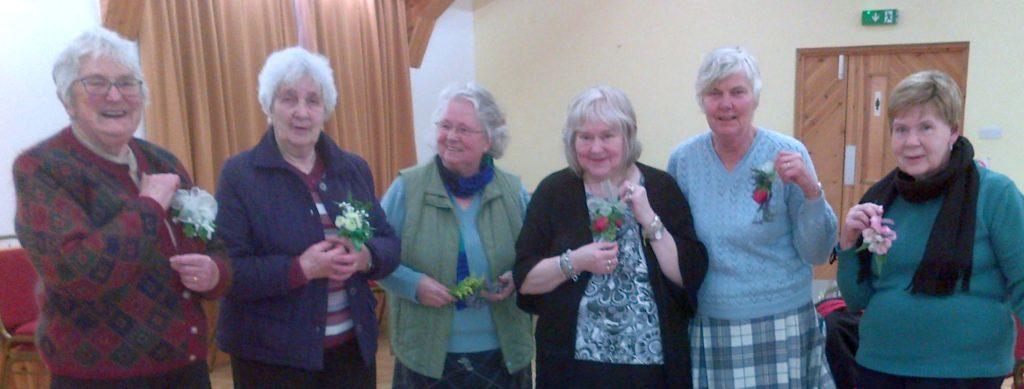 Fine floral corsages test Largieside SWI
