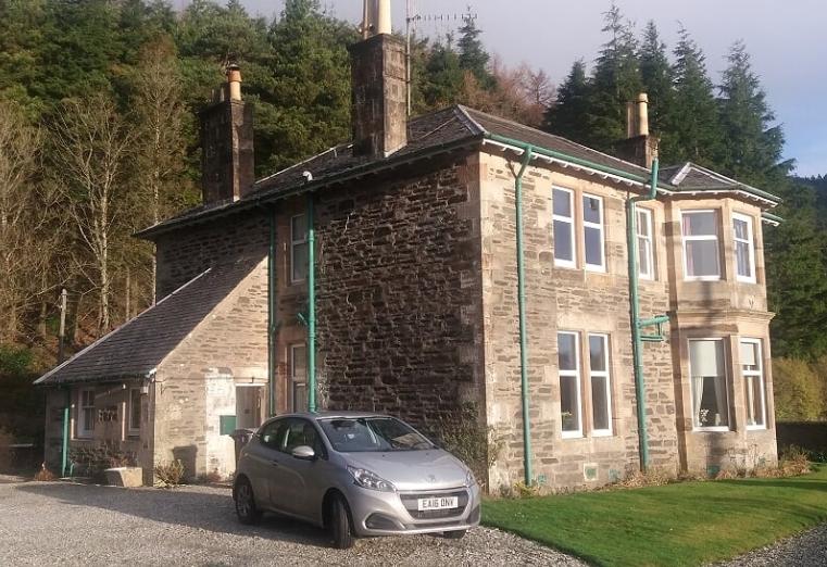 Glasgow architect's manse restored