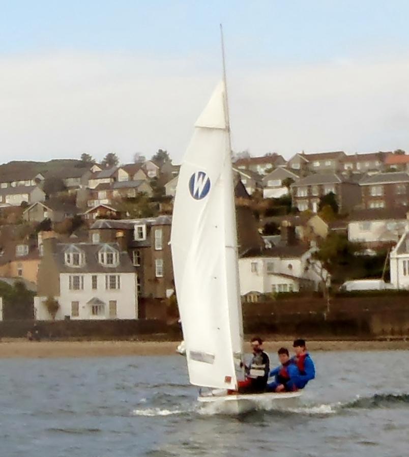 Campbeltown navigates onto the regatta map
