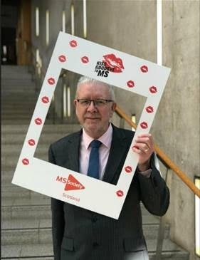 MSP supports Kiss Goodbye to MS campaign